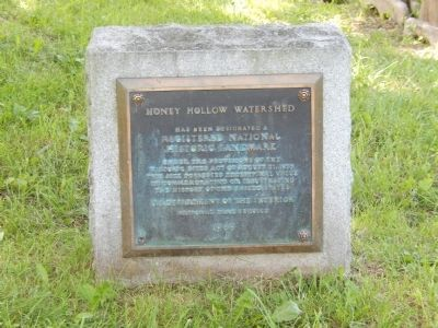Honey Hollow Watershed Marker image. Click for full size.