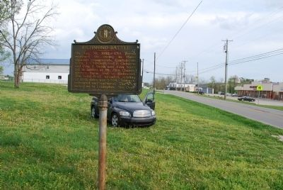 Richmond Battle Marker image. Click for full size.