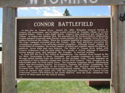 Connor Battlefield Marker image. Click for full size.