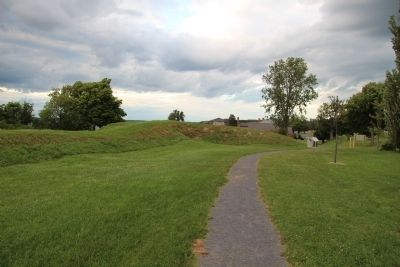 Fort Pike image. Click for full size.