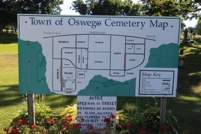 Rural Cemetery Map image. Click for full size.