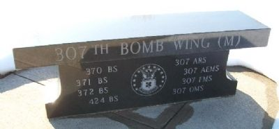 307th Bomb Wing (M) Memorial Bench image. Click for full size.