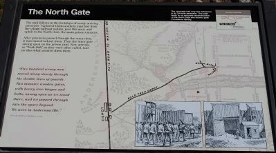 The North Gate Marker image. Click for full size.