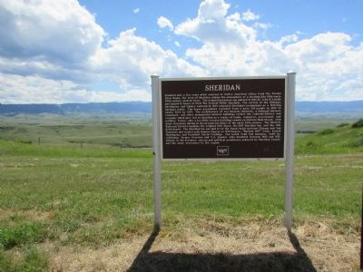 Sheridan Marker image. Click for full size.