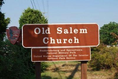 Old Salem Church image. Click for full size.