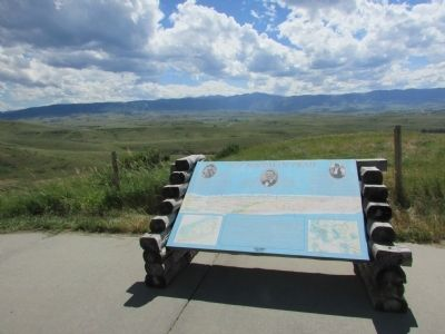 The Bozeman Trail Marker image. Click for full size.