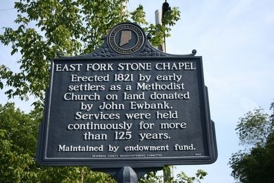 East Fork Stone Chapel Marker image. Click for full size.