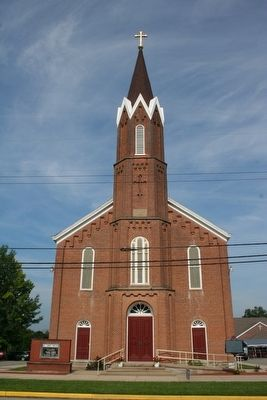 St. John The Baptist Church, Dover, IN. image. Click for full size.