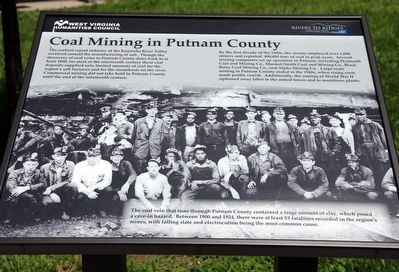 Coal Mining in Putnam County Marker image. Click for full size.