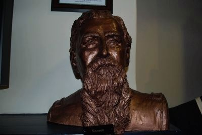 General Mahlon Manson Bust image. Click for full size.