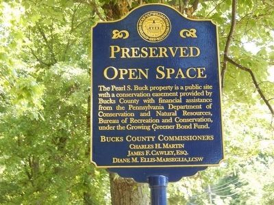Pearl S. Buck Preserved Open Space image. Click for full size.