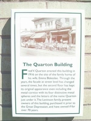 The Quarton Building Marker image. Click for full size.