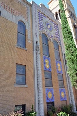 Moorish Style Elements<br>of Sacred Heart Catholic Church image. Click for full size.