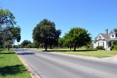 View to South Along Sayles Boulevard image. Click for full size.