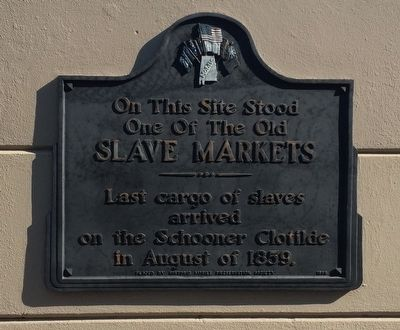 Slave Markets Marker image. Click for full size.