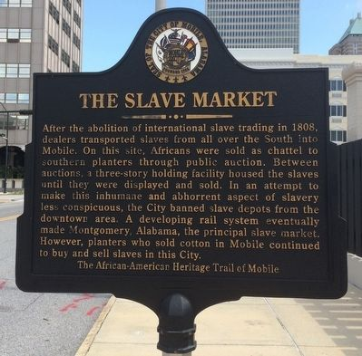 The Slave Market Marker image. Click for full size.