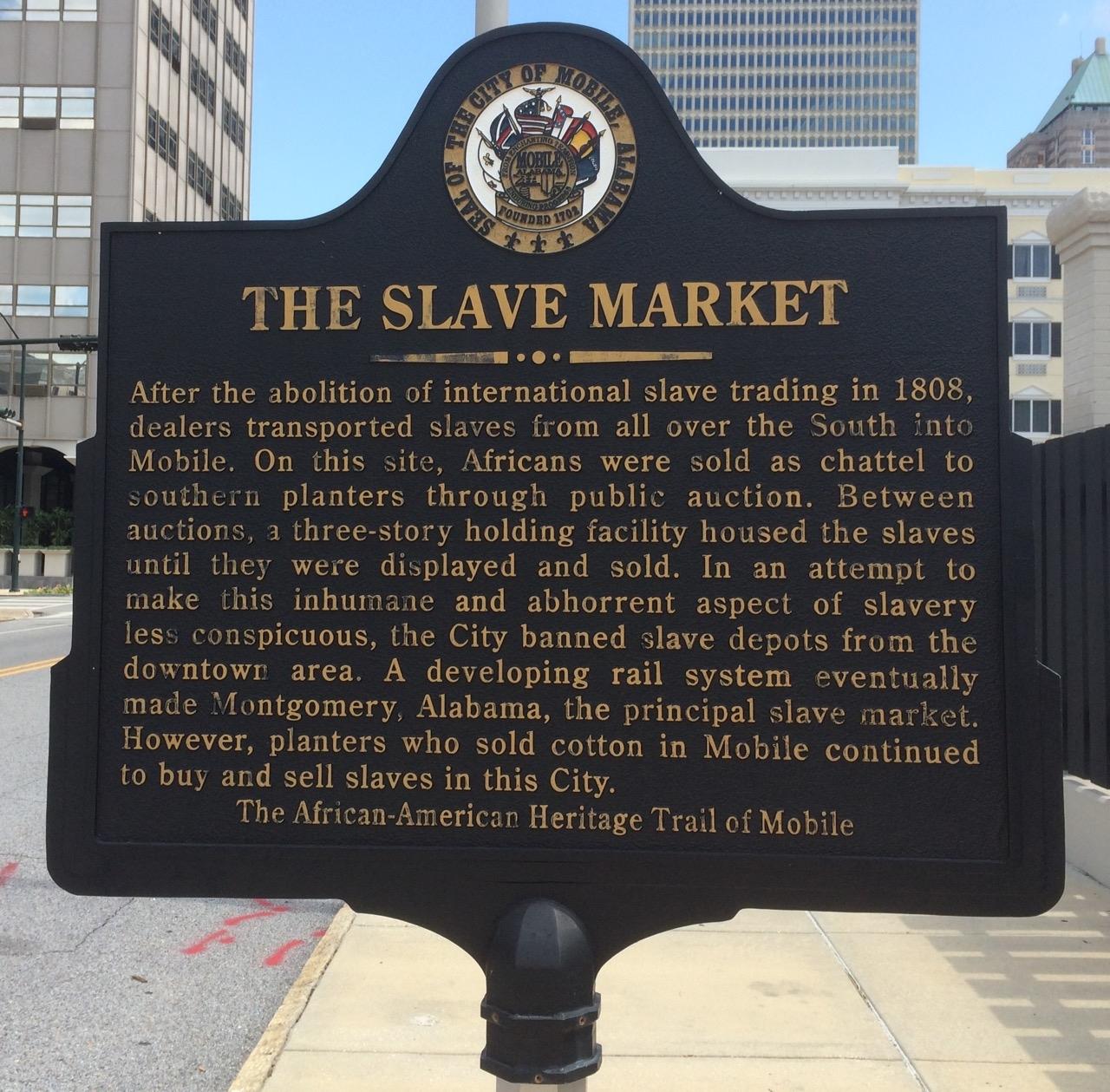 The Slave Market Marker