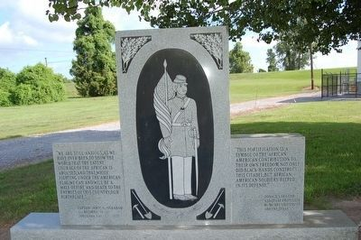 Fort Butler African American Soldiers Memorial image. Click for full size.