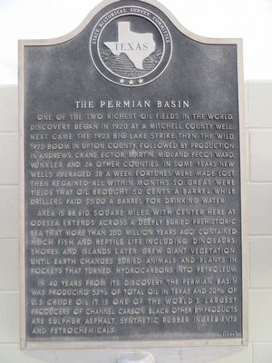 The Permian Basin Marker image. Click for full size.