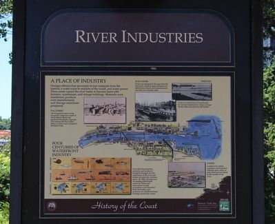 River Industries Marker image. Click for full size.
