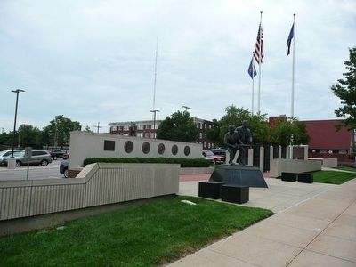 VFW Centennial Plaza Marker image. Click for full size.