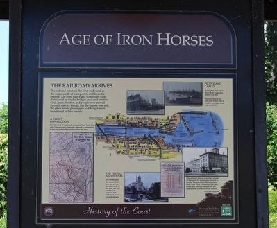 Age of Iron Horses Marker image. Click for full size.
