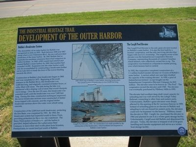 Development of the Outer Harbor Marker image. Click for full size.