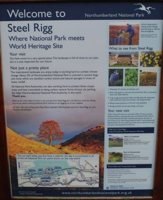 Steel Rigg Marker image. Click for full size.