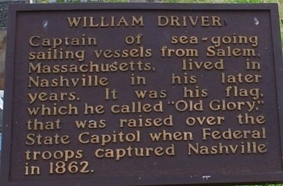 William Driver Marker image. Click for full size.