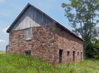 Seneca Stone Barn image. Click for full size.