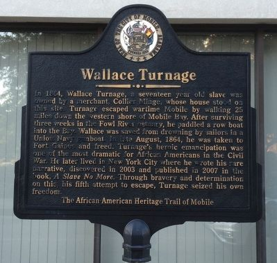Wallace Turnage Marker image. Click for full size.