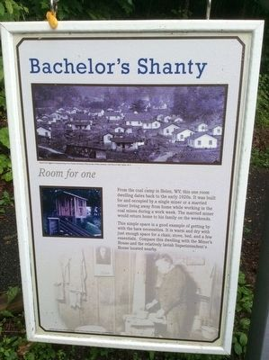 Bachelor's Shanty Marker image. Click for full size.