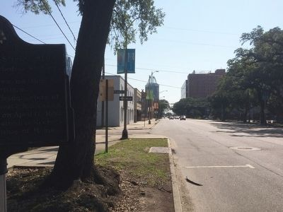 View from marker east on Government Street. image. Click for full size.