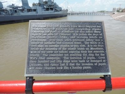 "USS KIDD - ""DD 661"" Marker - Panel 1 image. Click for full size."
