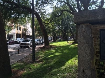 View from monument of Dauphin Street image. Click for full size.
