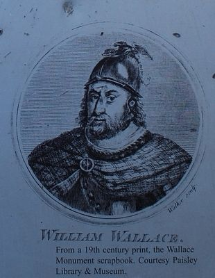 19th Century Print of Wallace image. Click for full size.