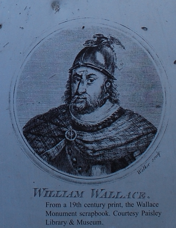19th Century Print of Wallace