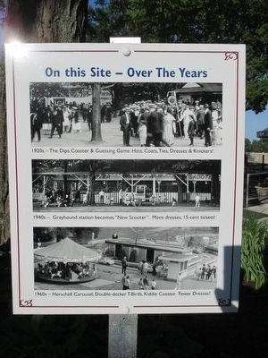 On This Site - Over the Years Marker image. Click for full size.