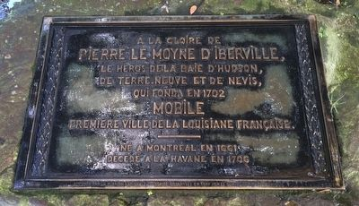 Pierre Le Moyne d'Iberville Marker image. Click for full size.