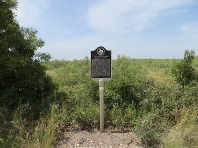 Midland County's First Producing Oil Well Marker image. Click for full size.