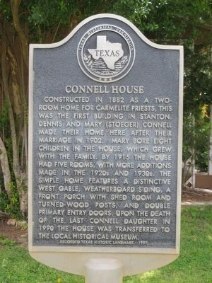 Connell House Marker image. Click for full size.