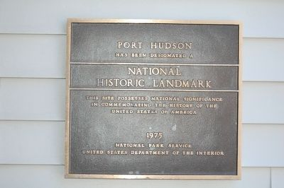 Port Hudson Marker image. Click for full size.