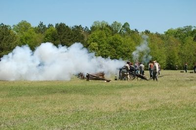 Port Hudson Battle Re-enactment image. Click for full size.