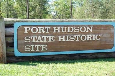 Port Hudson Site Sign image. Click for full size.