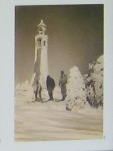 The War Memorial Tower in Winter image. Click for full size.
