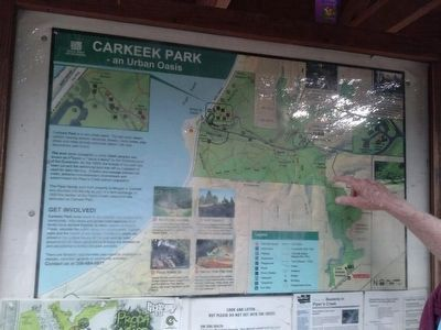 Carkeek Park Marker image. Click for full size.