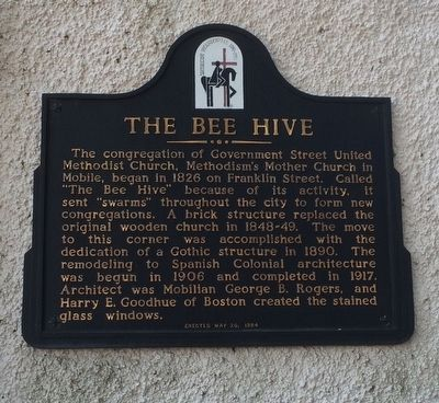 The Bee Hive Marker image. Click for full size.