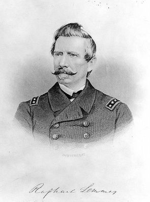 Rear-Admiral Raphael Semmes image. Click for full size.