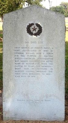 Fort Anahuac Marker image. Click for full size.