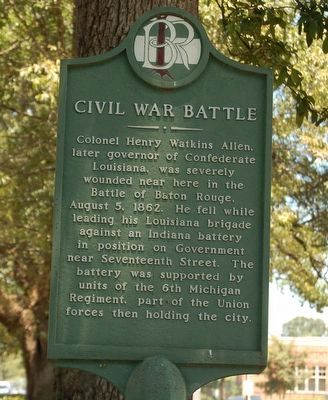 Civil war Battle Marker image. Click for full size.